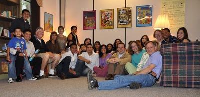Participants in the Good Shepherd Hispanic Literacy Program